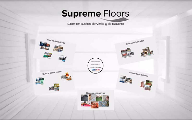 Nuevo v deo supreme floors l der en suelos vin licos - Pavimentos de vinilo ...