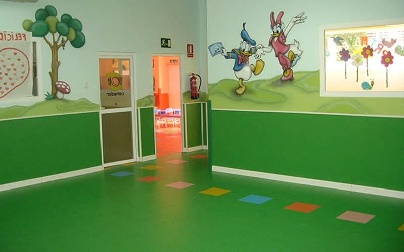 Revestimientos de paredes - Suprawall - Escuela Nenes